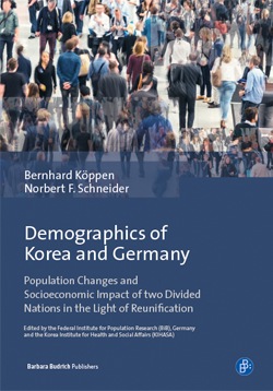 "Cover ""Demographics of Korea and Germany"" (refer to: New Book on Population Development in Korea and Germany)"