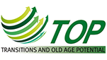"Logo des Forschungsprojektes ""Transitions and Old Age Potential"""