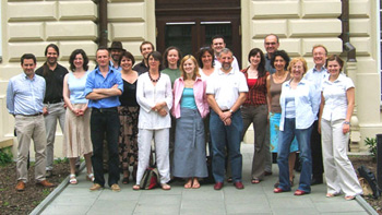 members of the reasearch project Job Mobilities and Family Lives in Europe