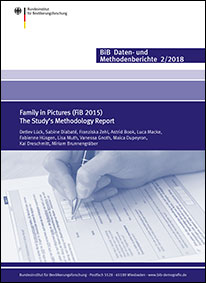 "Titelbild ""Family in Pictures (FiB 2015) - The Study's Methodology Report"" (verweist auf: Family in Pictures (FiB 2015) The Study's Methodology Report)"