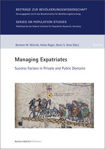 "Cover ""Managing Expatriates. Success Factors in Private and Public Domains"" (verweist auf: Managing Expatriates. Success Factors in Private and Public Domains)"